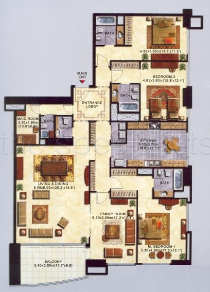 Al shera tower floor plans jlt dubai for Floor plans jumeirah heights
