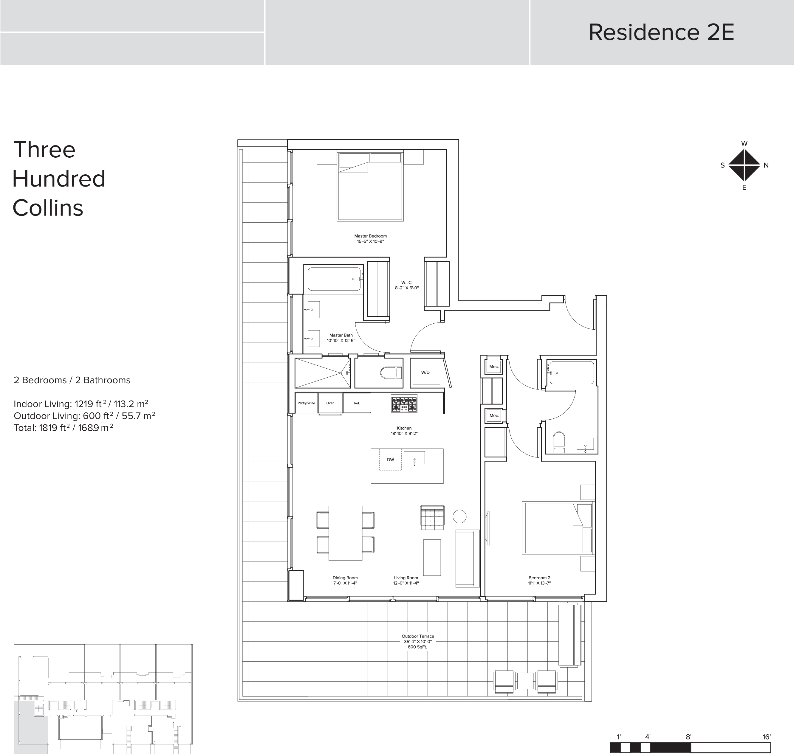 300 collins condo floor plans miami fl for Floor 2 swordburst 2