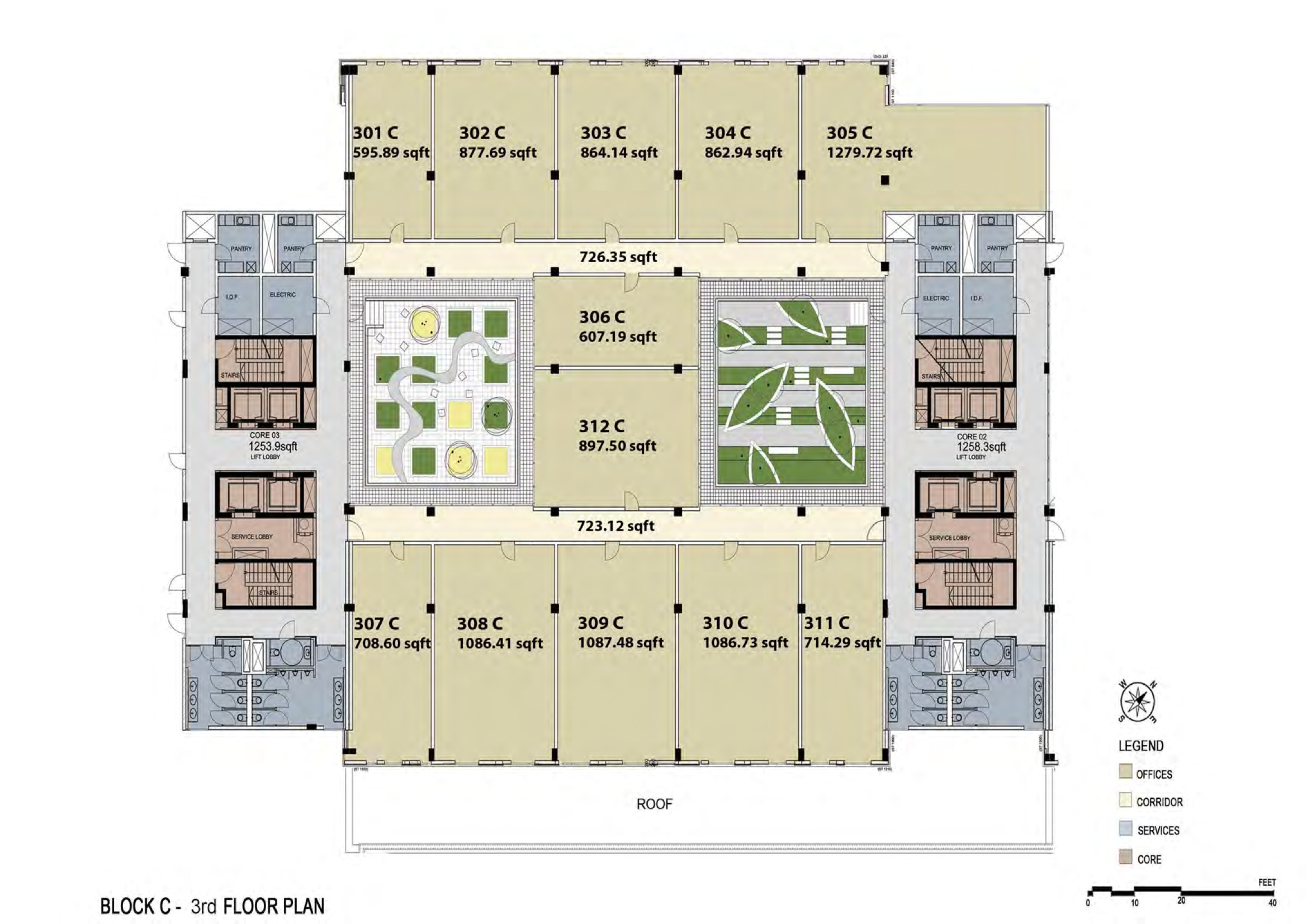 Office park floor plans media city dubai Program for floor plans