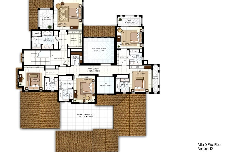 Polo homes floor plans arabian ranches dubai for Home builders floor plans