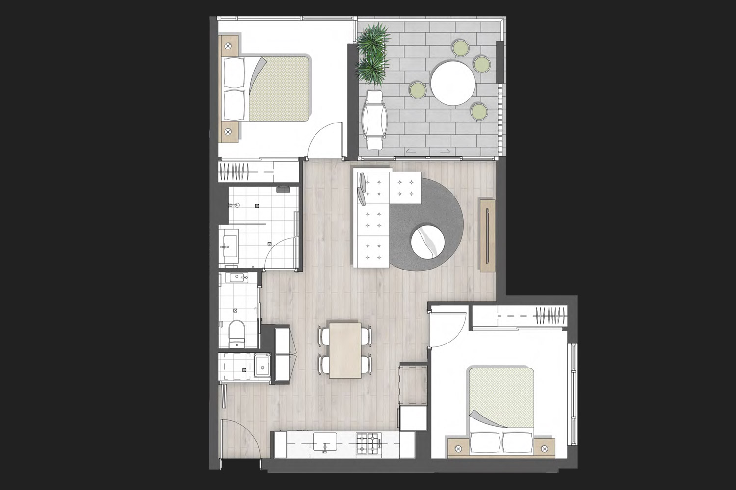 arena apartments floor plans 9 edmondstone street brisbane