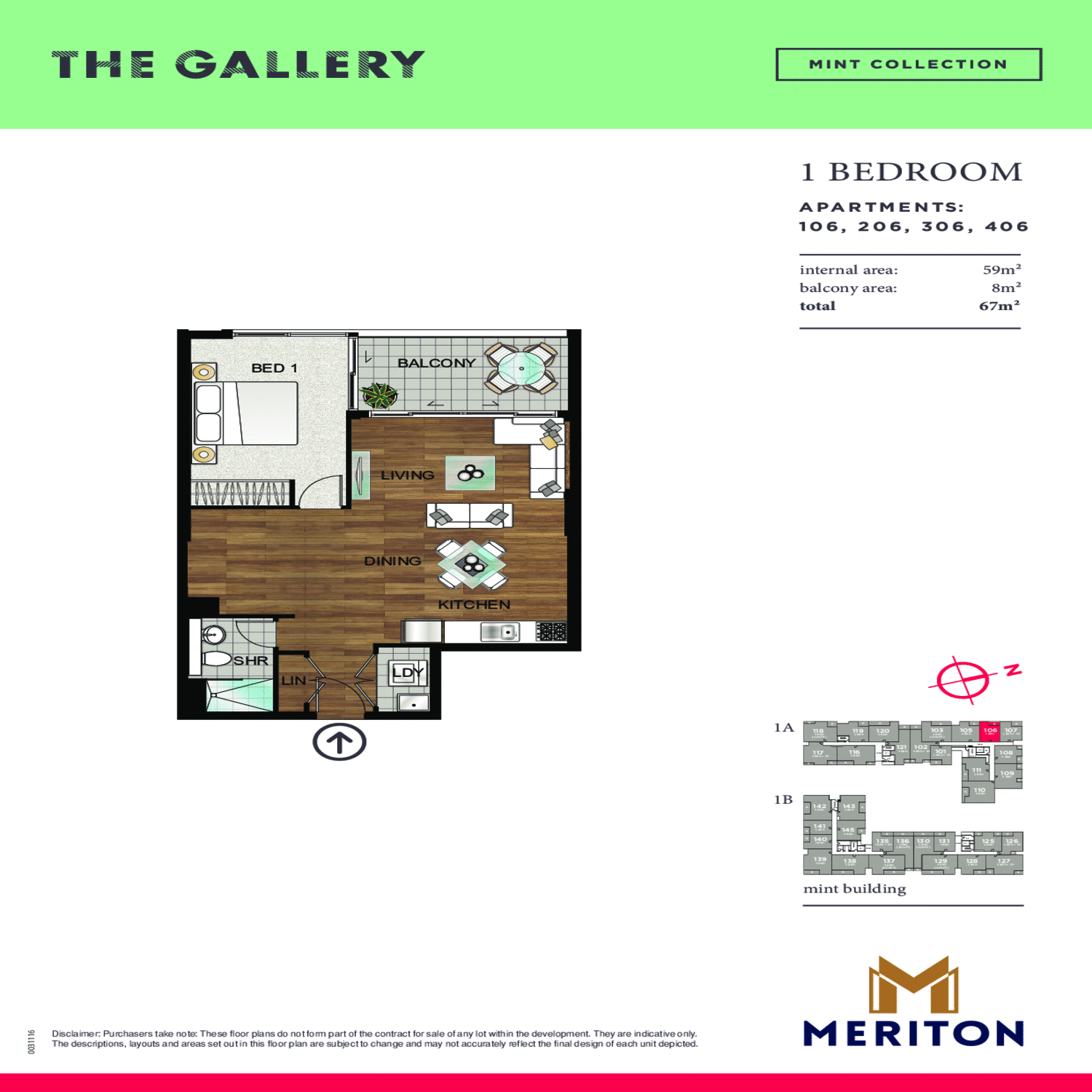 The Gallery Floor Plans 5 Rosebery Avenue Sydney