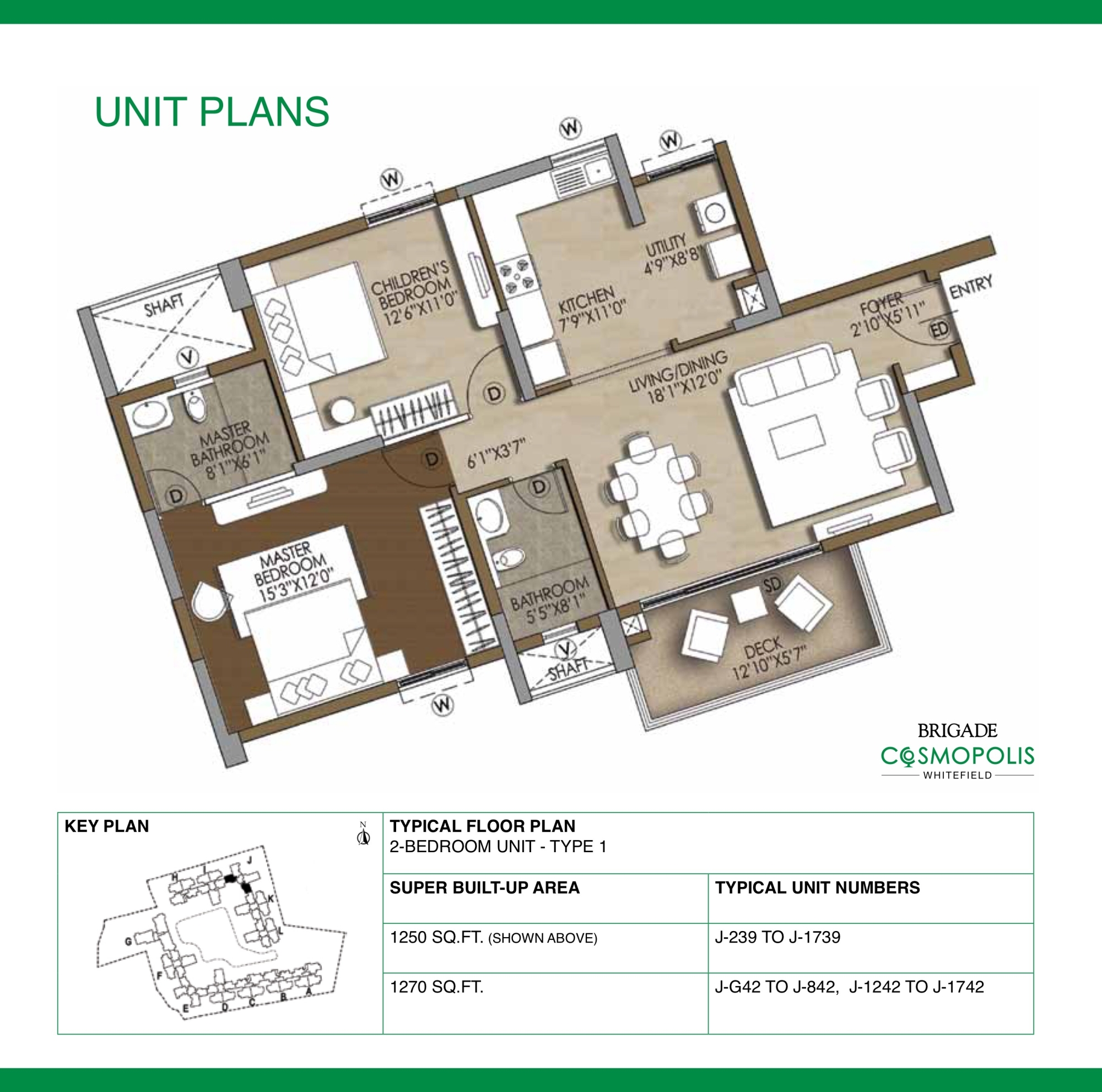 Cosmopolis Apartment Floor Plans Bangalore India
