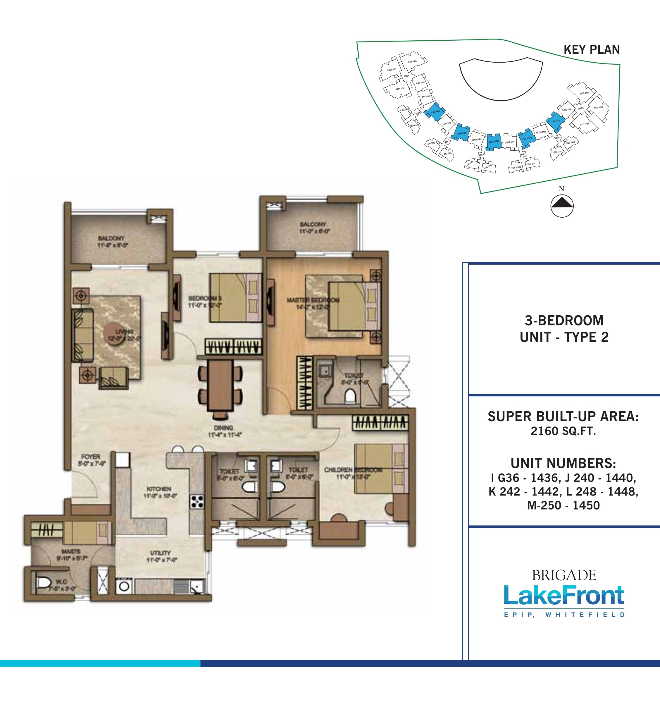Lakefront Apartments: Whitefield Lakefront Apartments