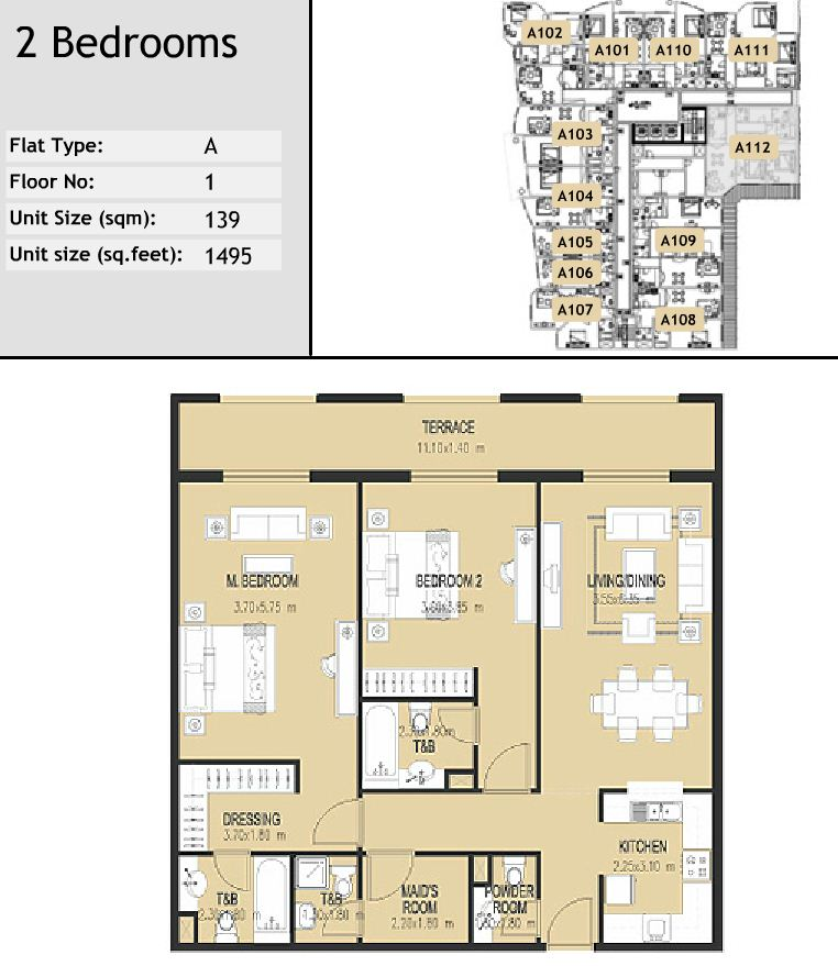 Jumeirah Village Triangle Dubai Floor Plans