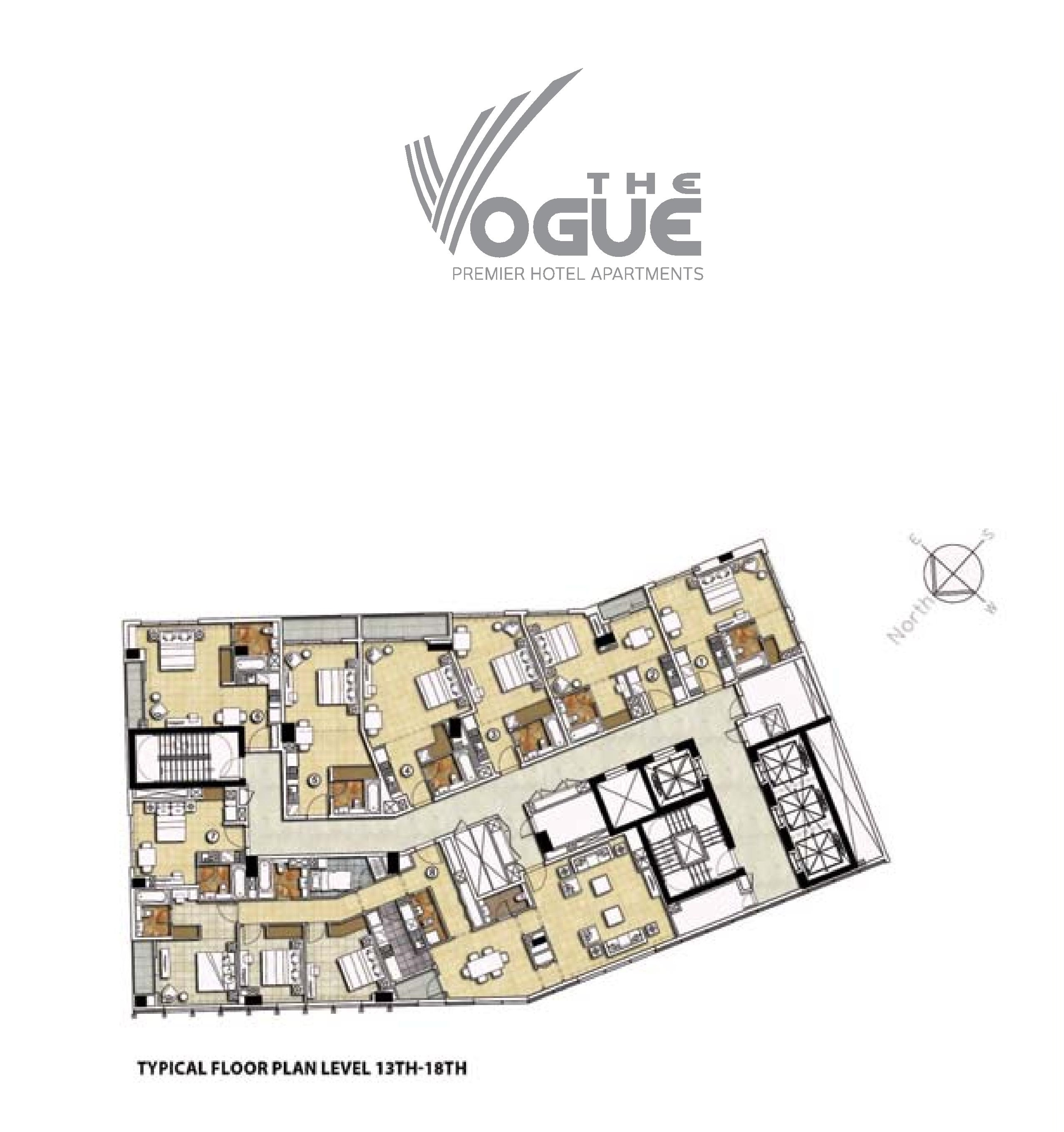 The vogue floor plans buisness bay dubai for The world deck plans