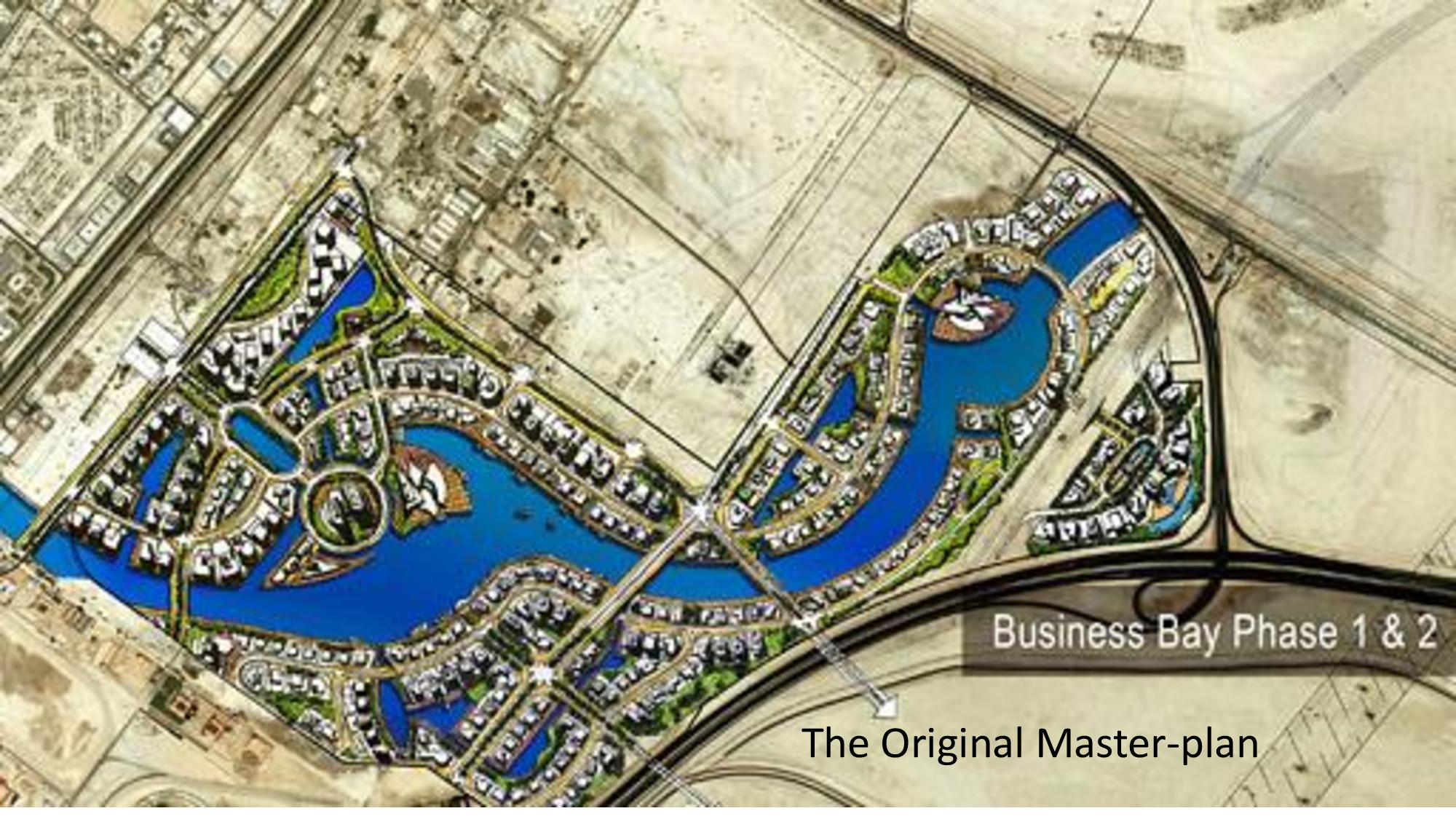 business bay map rendering