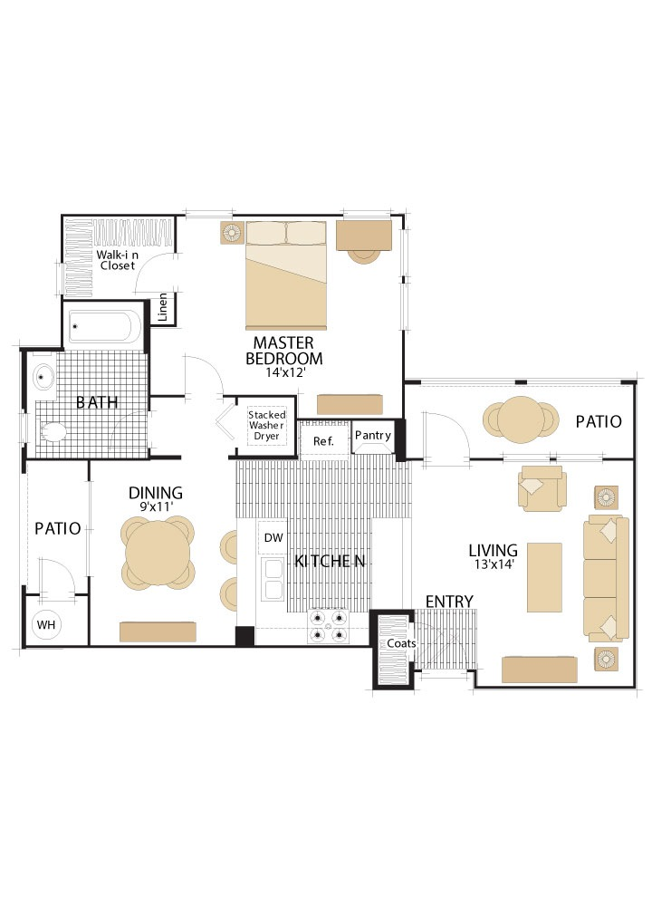Woodbury Court Floor Plans Irvine California