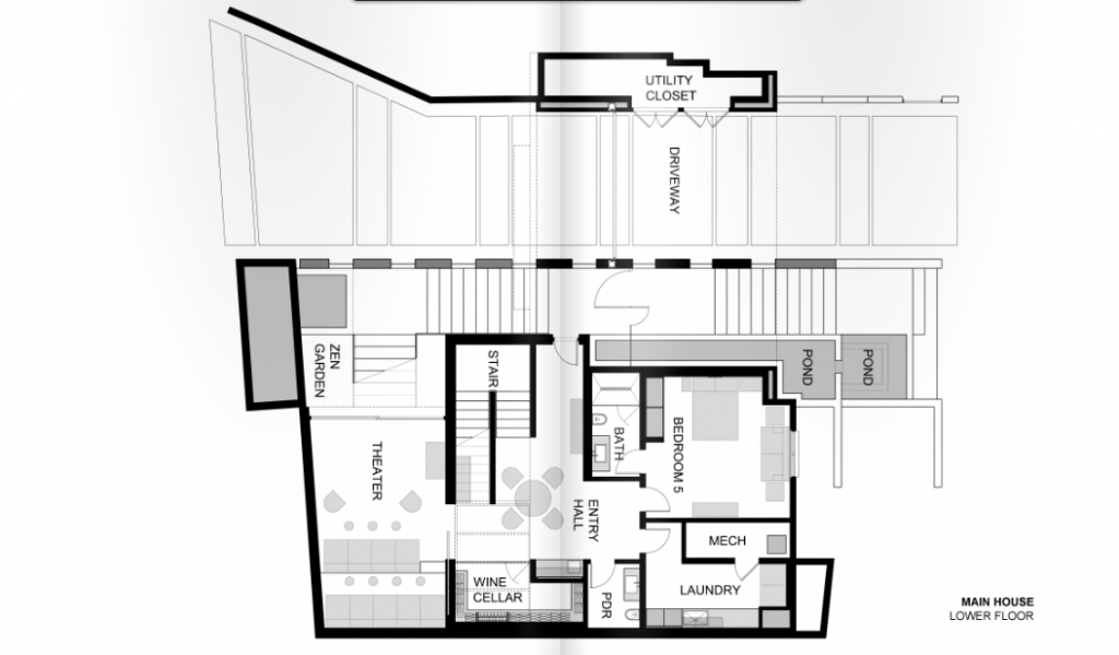 1201 laurel way floor plans beverley hills los angeles