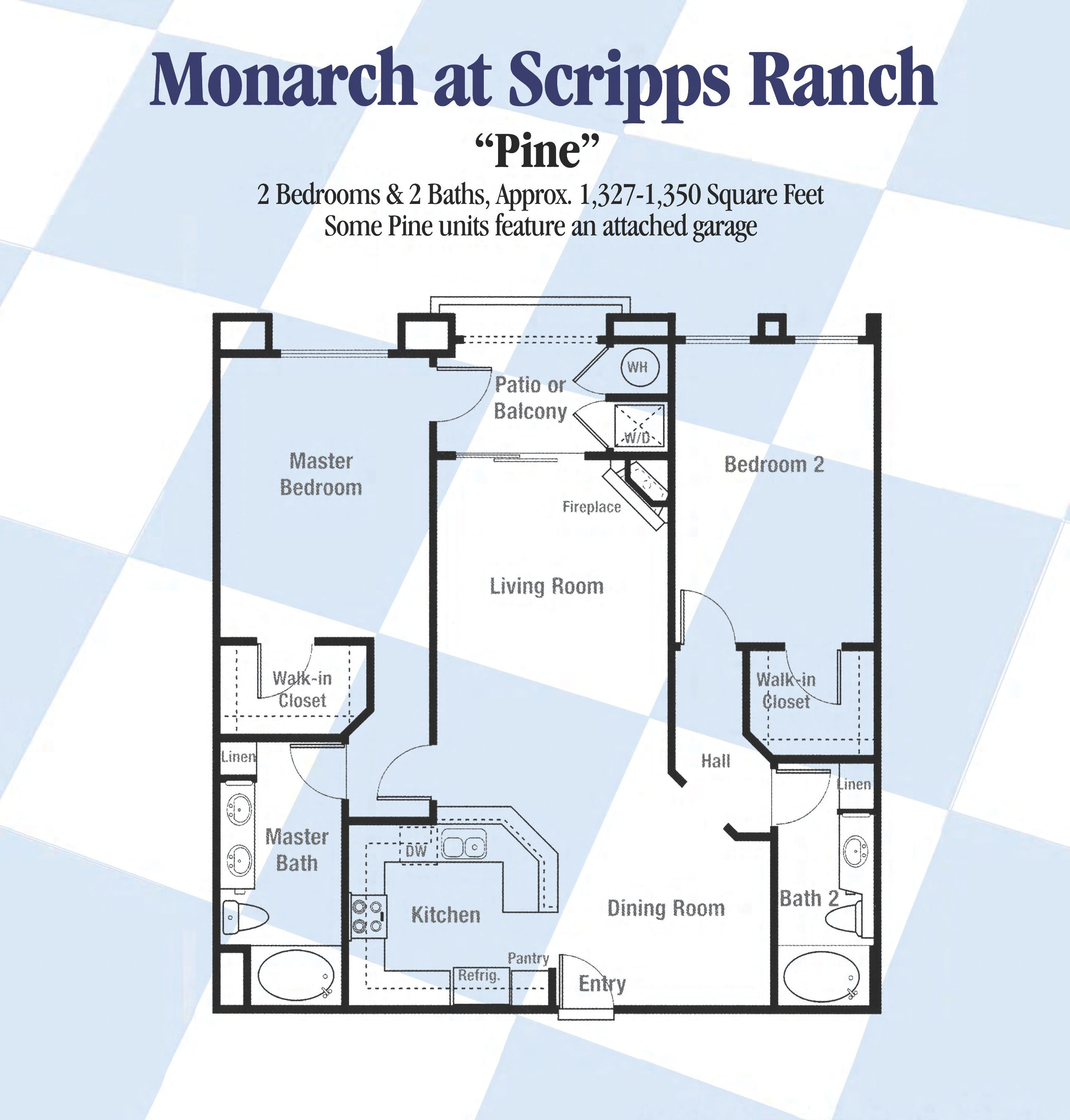 Scripps Ranch Floorplans - San Diego, California