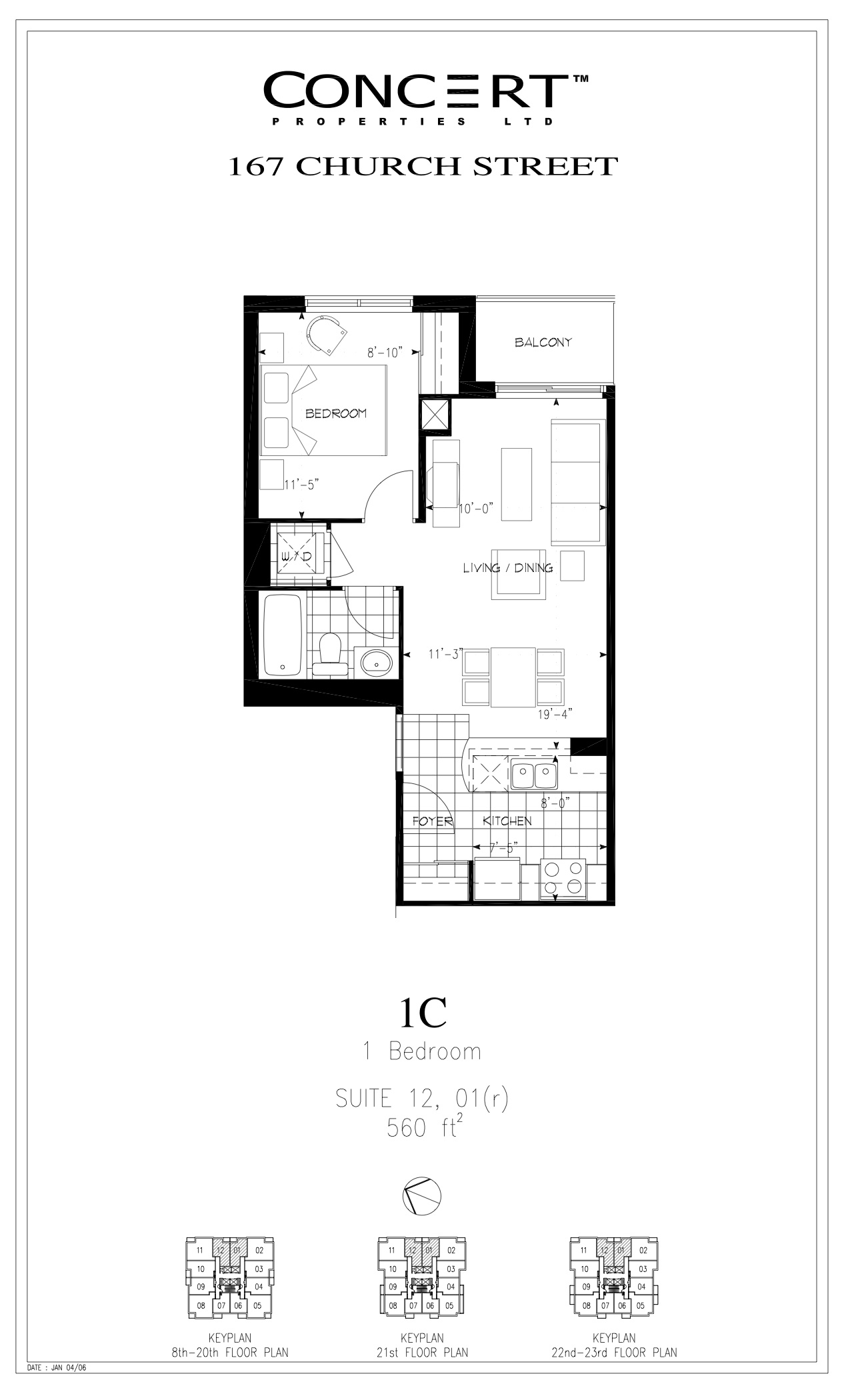 Jazz apartments floor plans toronto for Floor plans canada