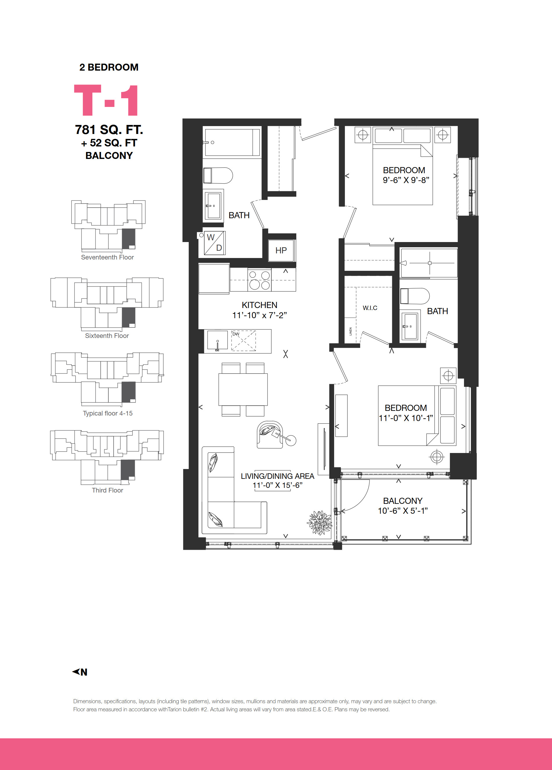 Bowery condos floor plans ottawa canada for Floor plans canada
