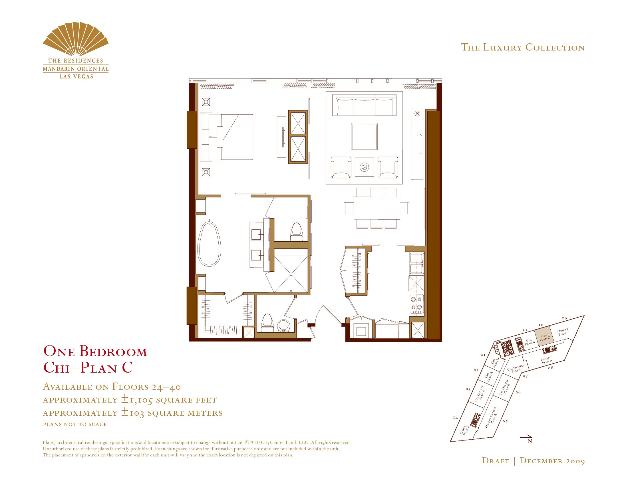 Mandarin residence floor plans city centre las vegas Program for floor plans