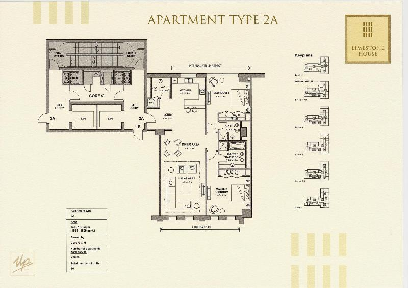 Limestone House Floor Plans Difc Dubai Uae
