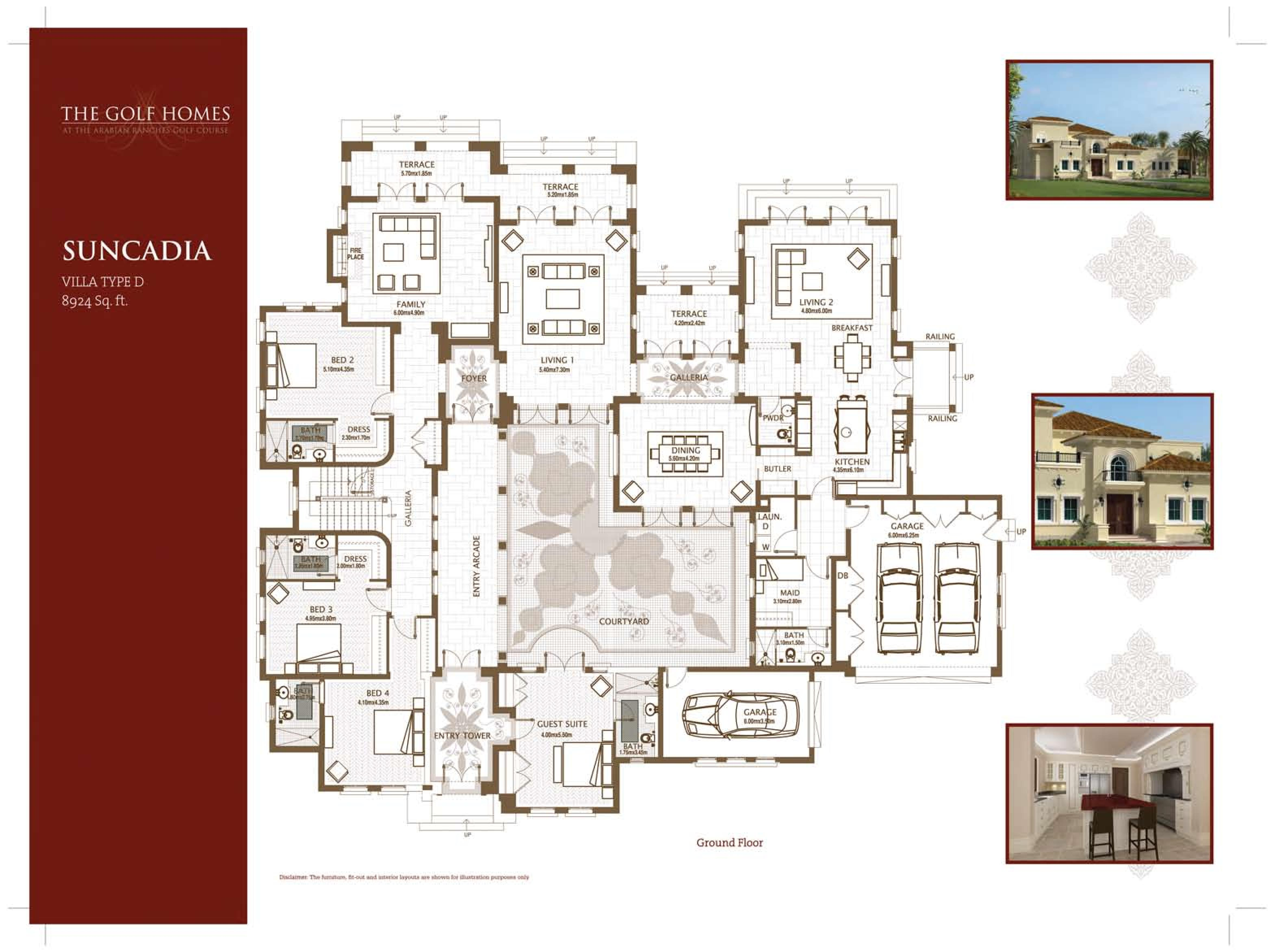 1000 images about home floorplans 1 story on pinterest for Dubai house floor plans