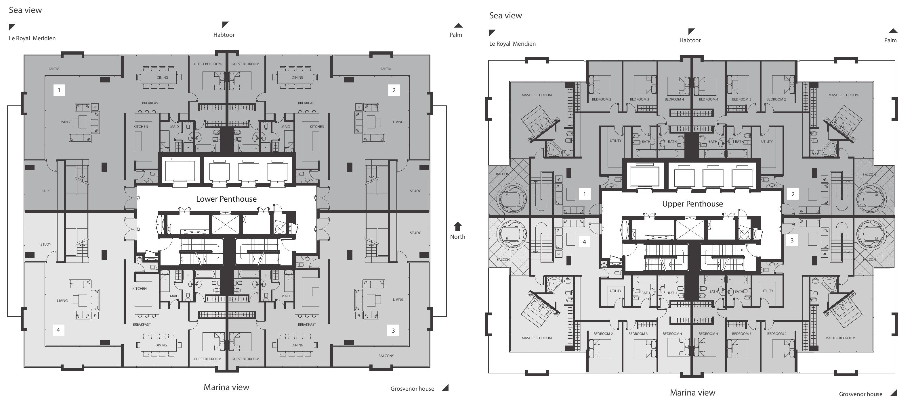 Hong Kong Apartment Floor Plan Botanica Floor Plans Dubai Marina