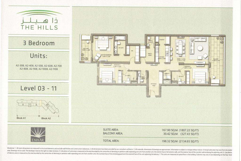 The hills floor plans emirates living dubai for The world deck plans