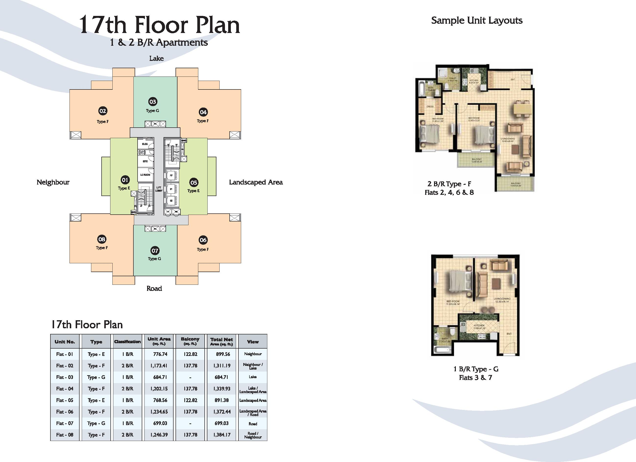 Fairview residency business bay for Apartment plans dubai