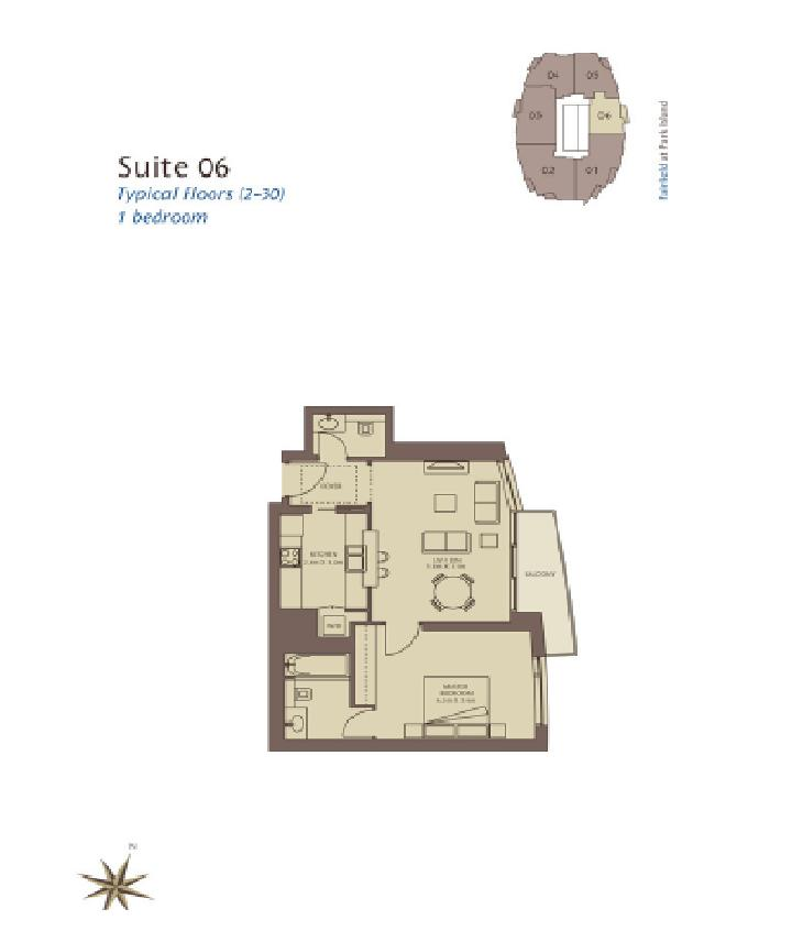 Fairfield Floorplans Dubai Marina