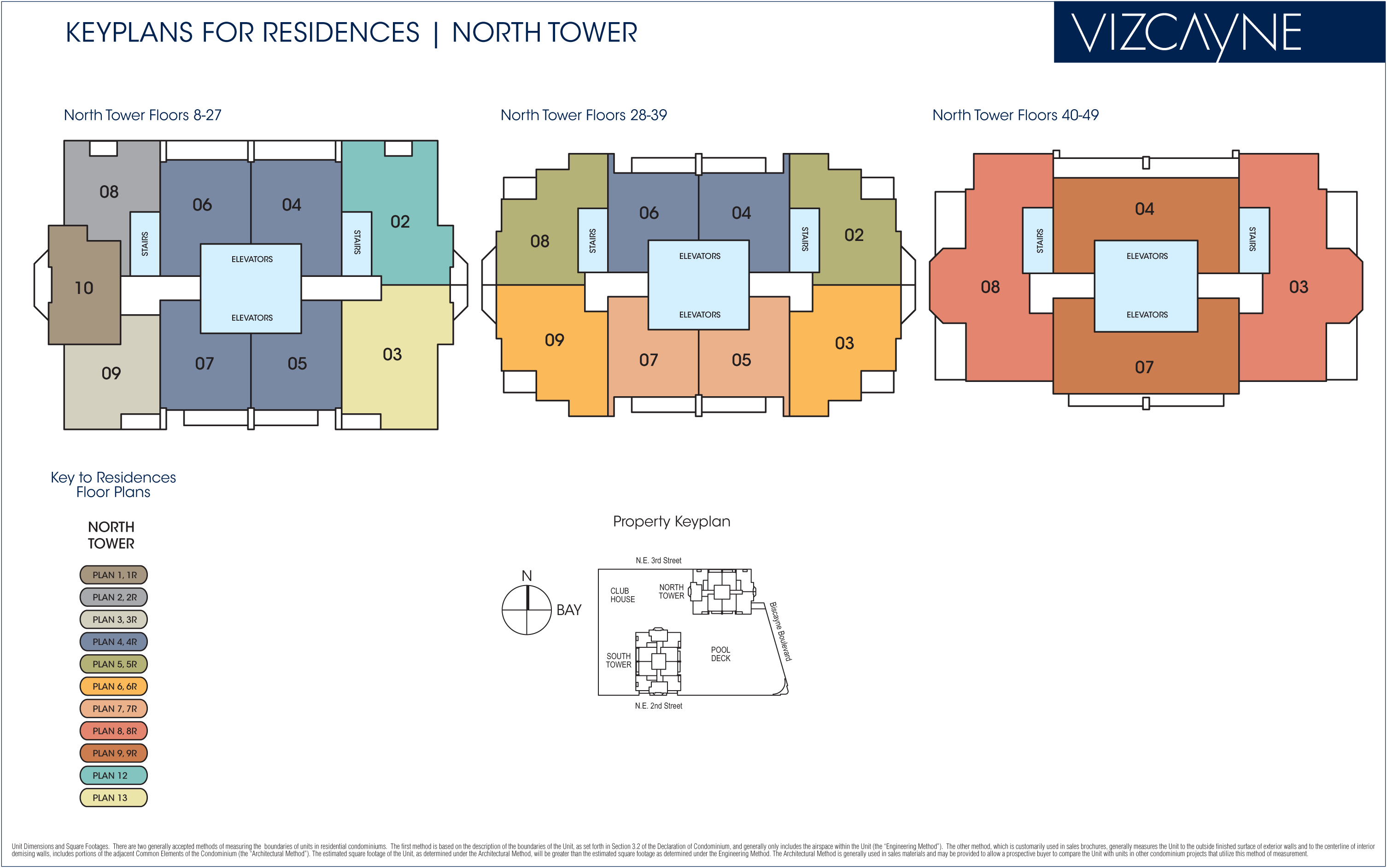 vizcayne tower floorplans miami one world trade center freedom tower floor plans new