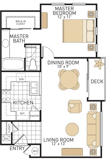 San Paulo Apartments Floor Plans Irvine California