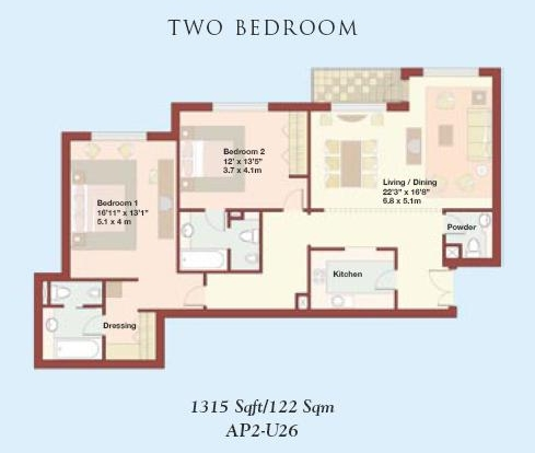Jbr floor plans jumeirah beach residence dubai for Floor 2 swordburst 2