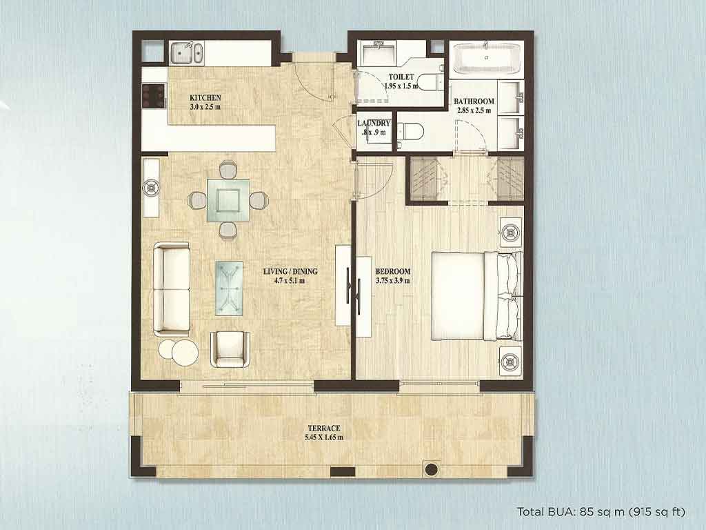Alandalus floor plans jumeirah golf estates dubai for Floor plans jumeirah heights