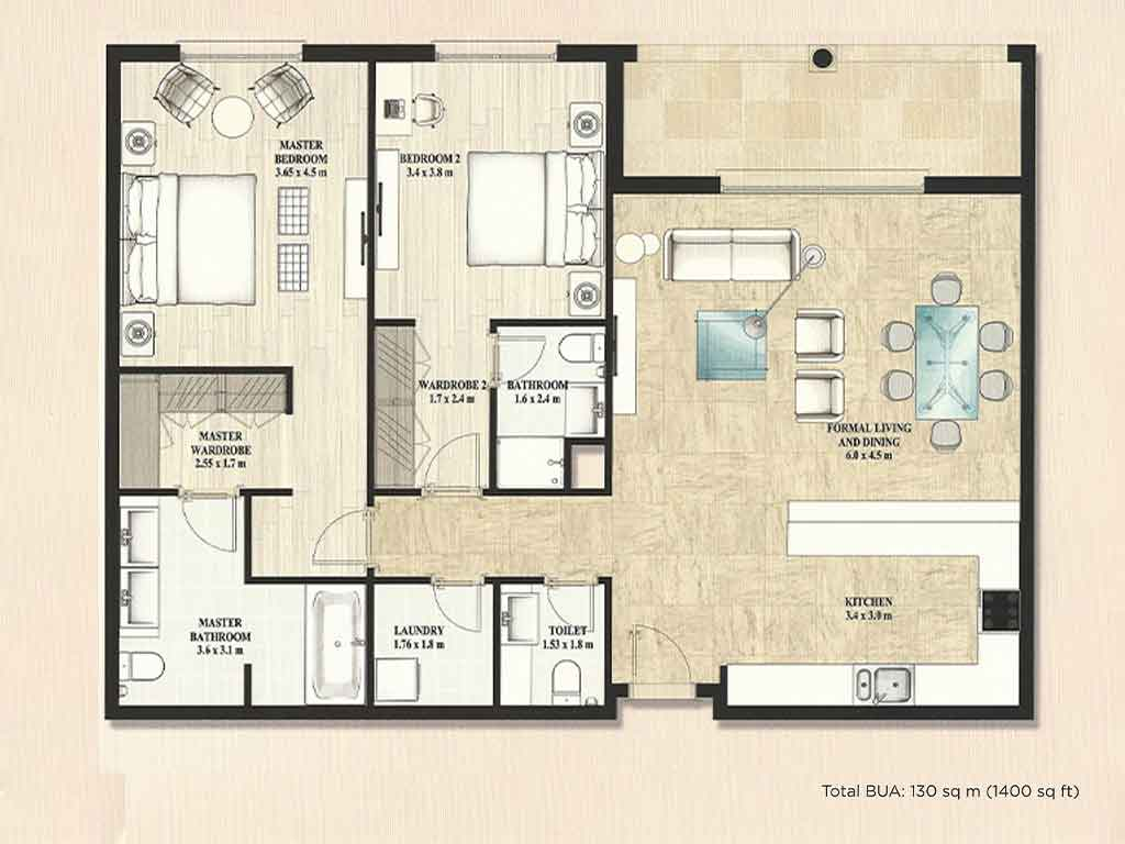 Alandalus Floor Plans Jumeirah Golf Estates Dubai
