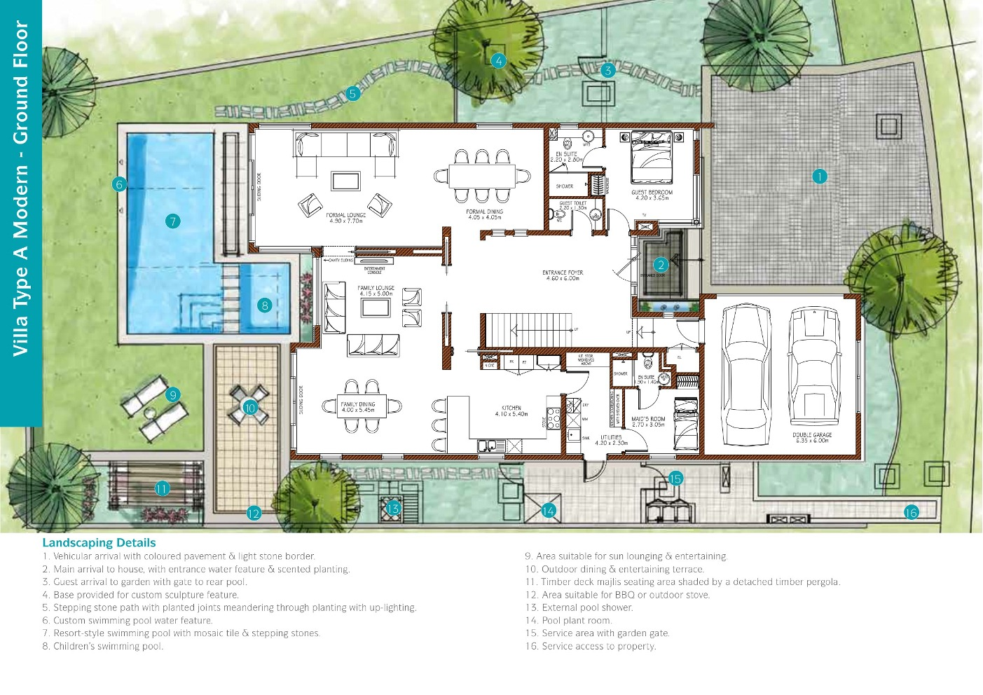 sanctuary falls villa floor plans jumeirah golf estates