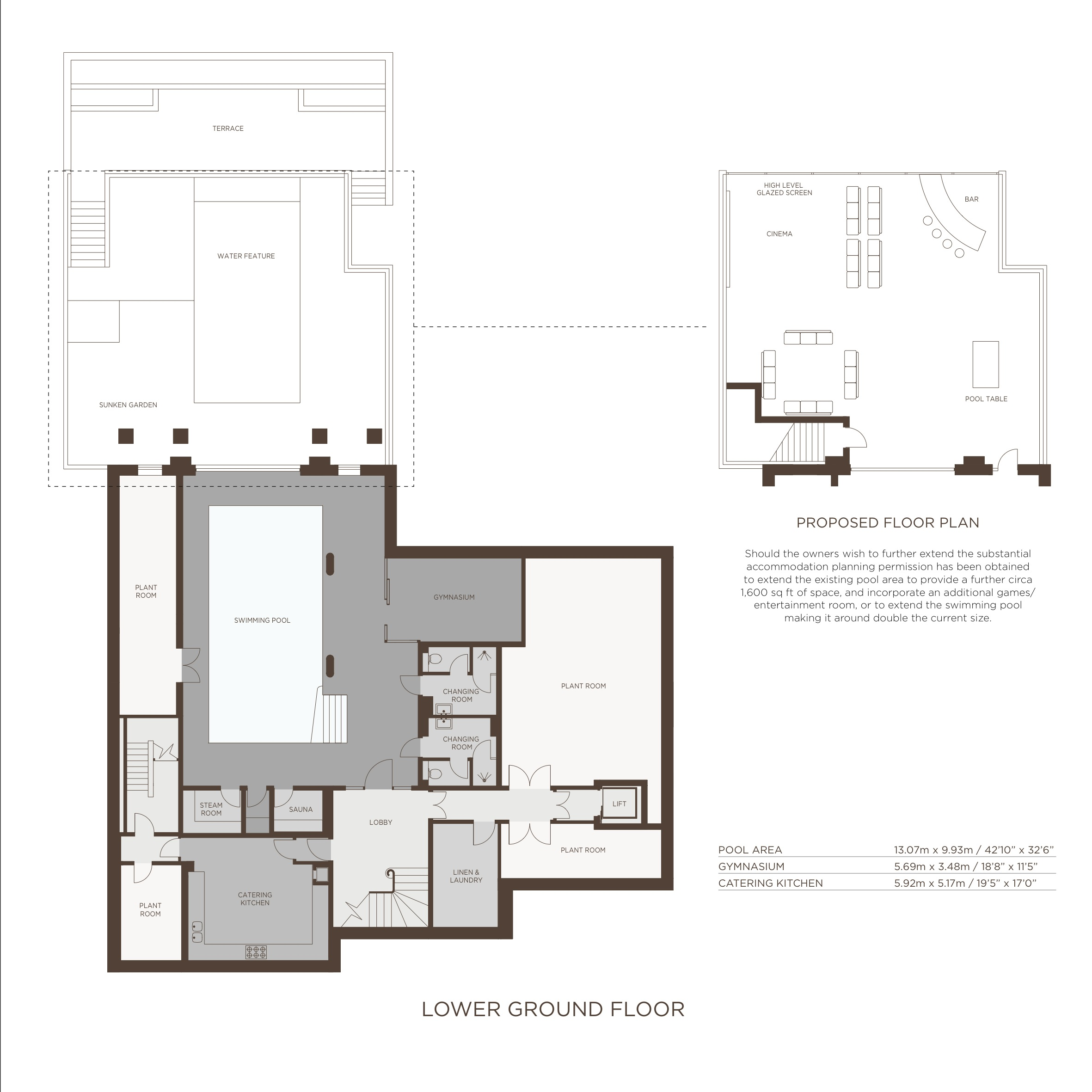 Jersey House Floor Plans, The Bishops Avenue - Barnet London