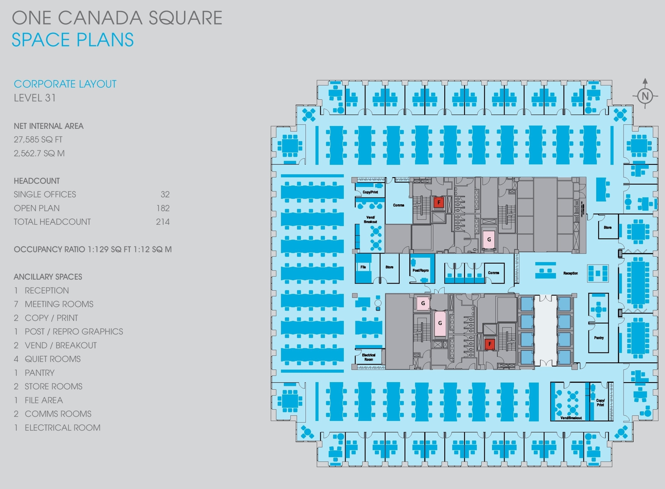 One Canada Square Floor Plans Canary Wharf London
