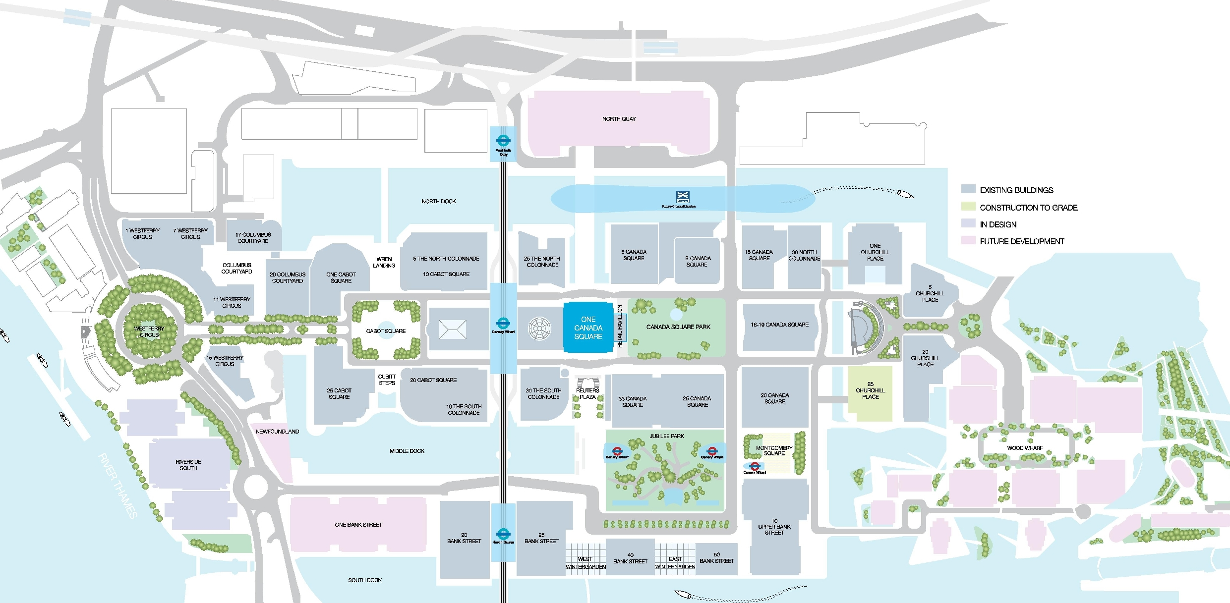 Floor Plan Of A Shopping Mall One Canada Square Floor Plans Canary Wharf London