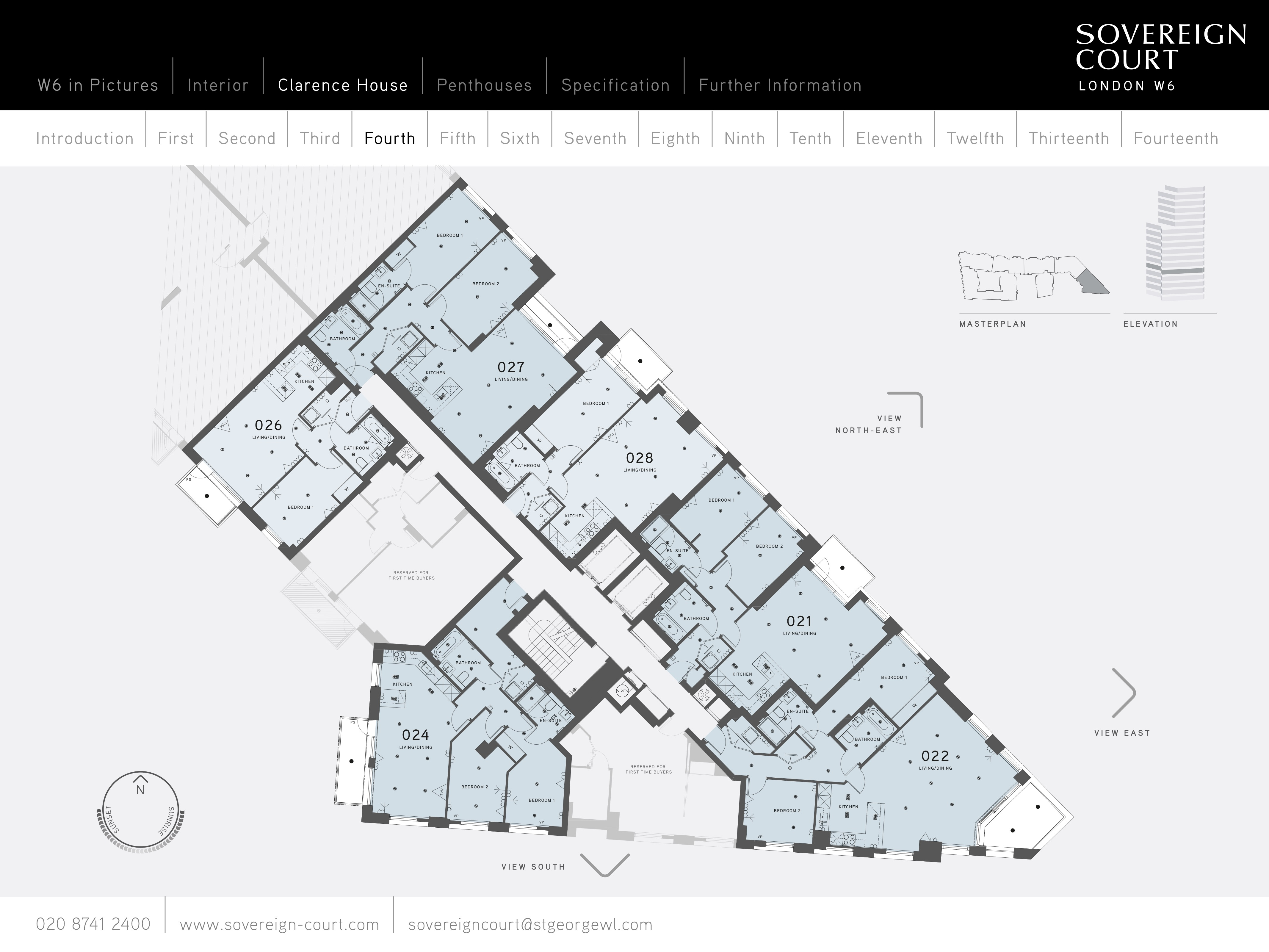 Sovereign court clarence house floor plans hammersmith for 125 court street floor plans