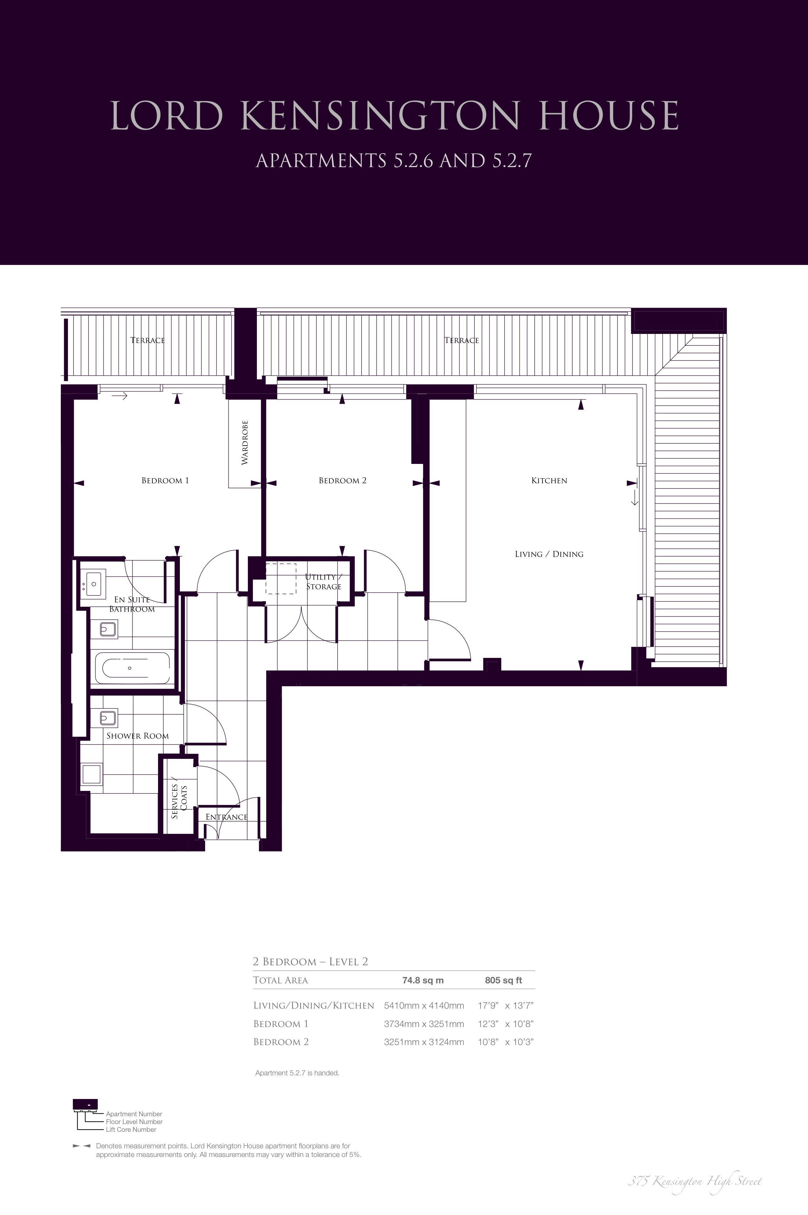 Lord Kensington House Floor Plans   Chelsea, London.