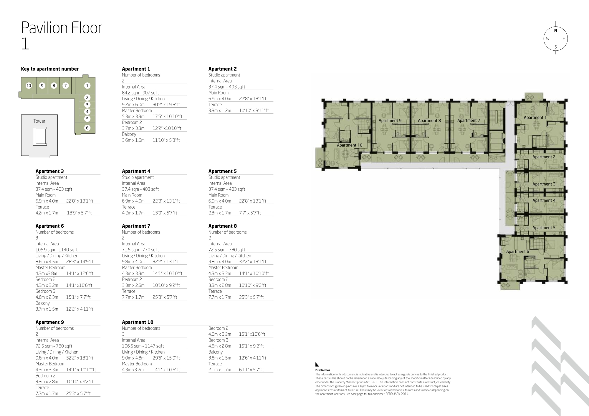 One the elephant floor plans elephant castle london for The world deck plans