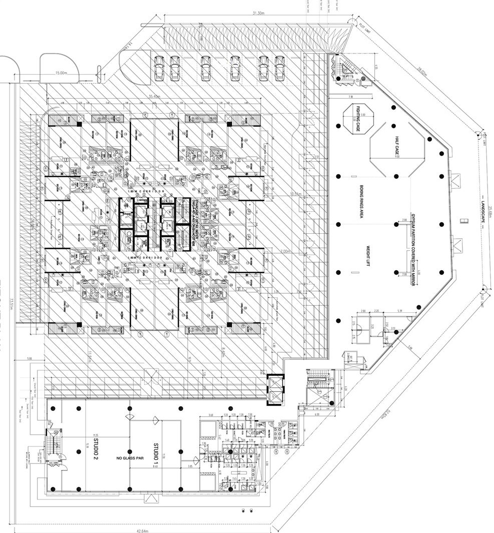 Mma Gym Tecom Floor Plan