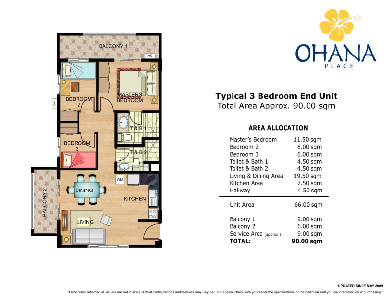 Ohana place floor plans manila Place builders floor plans