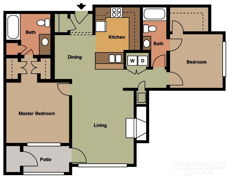 Lincoln On The Green Southwind Floorplans Memphis Tennessee