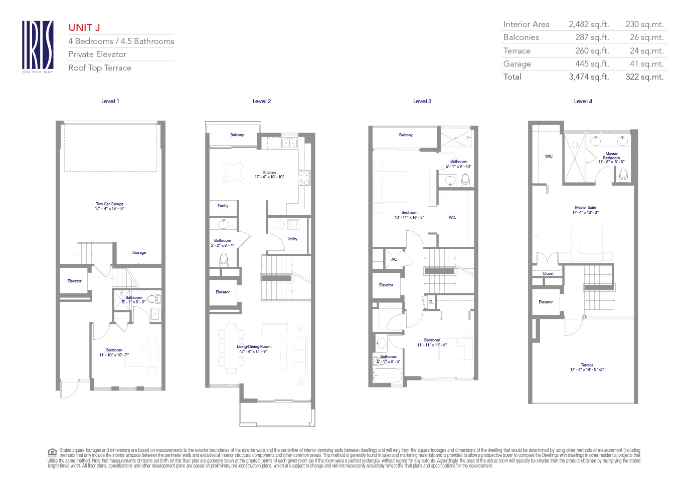 on the bay floor plans - 28 images - on the bay new miami