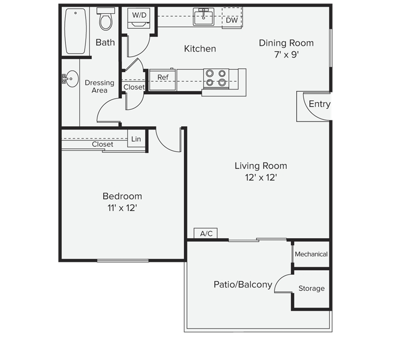 Avalon mountain view floor plans mountain view california Floor plan view