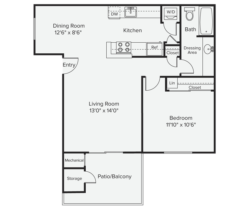 Avalon mountain view floor plans mountain view california for Mountain view floor plans