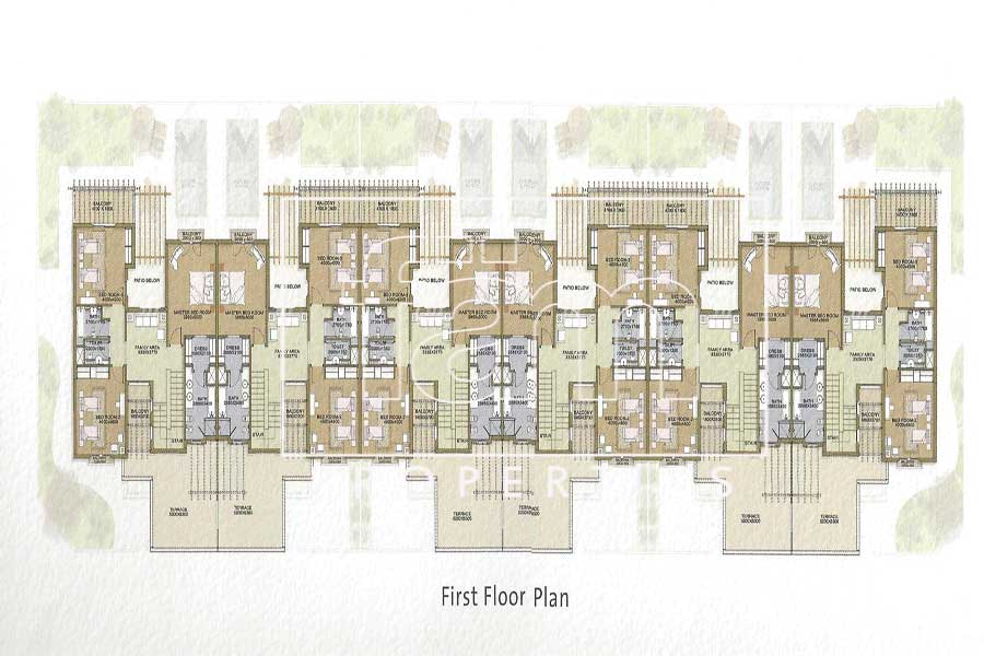 Ordinary floor plans 3 mudon 6 unit for Straw bale house cost calculator
