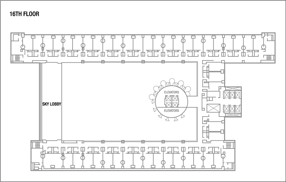 Marriott Marquis New York Floor Plans