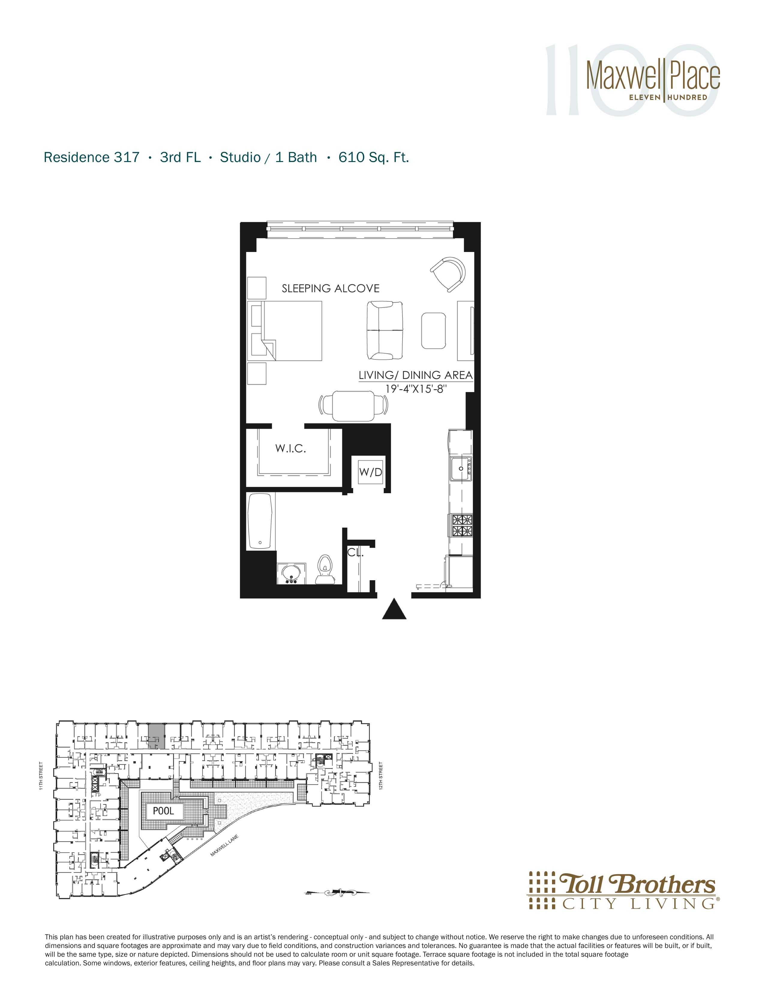 Delightful Floor Plans 7 New York Maxwell Place On