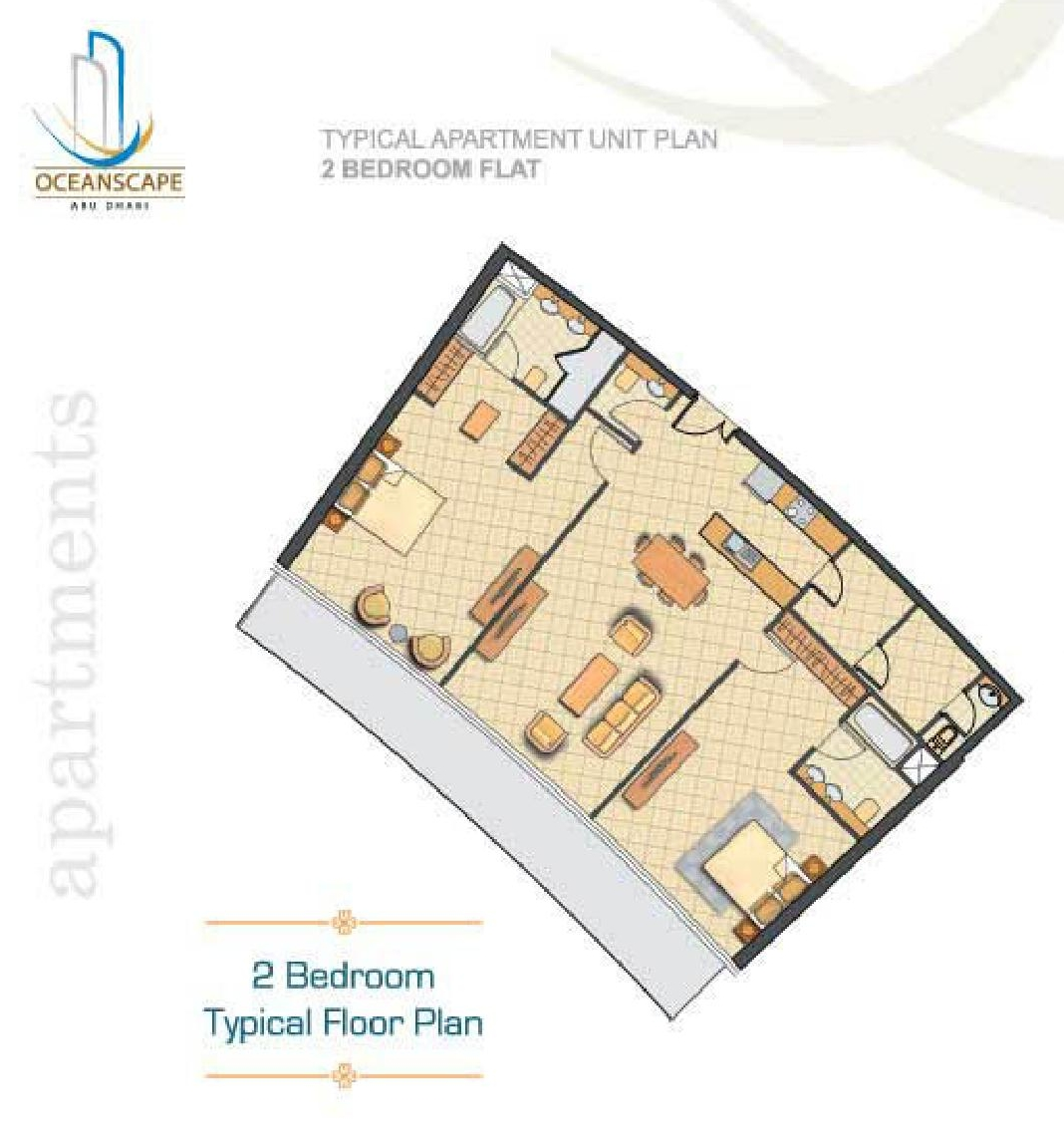Oceanscape floor plans al shams abu dhabi for Floor 2 swordburst 2