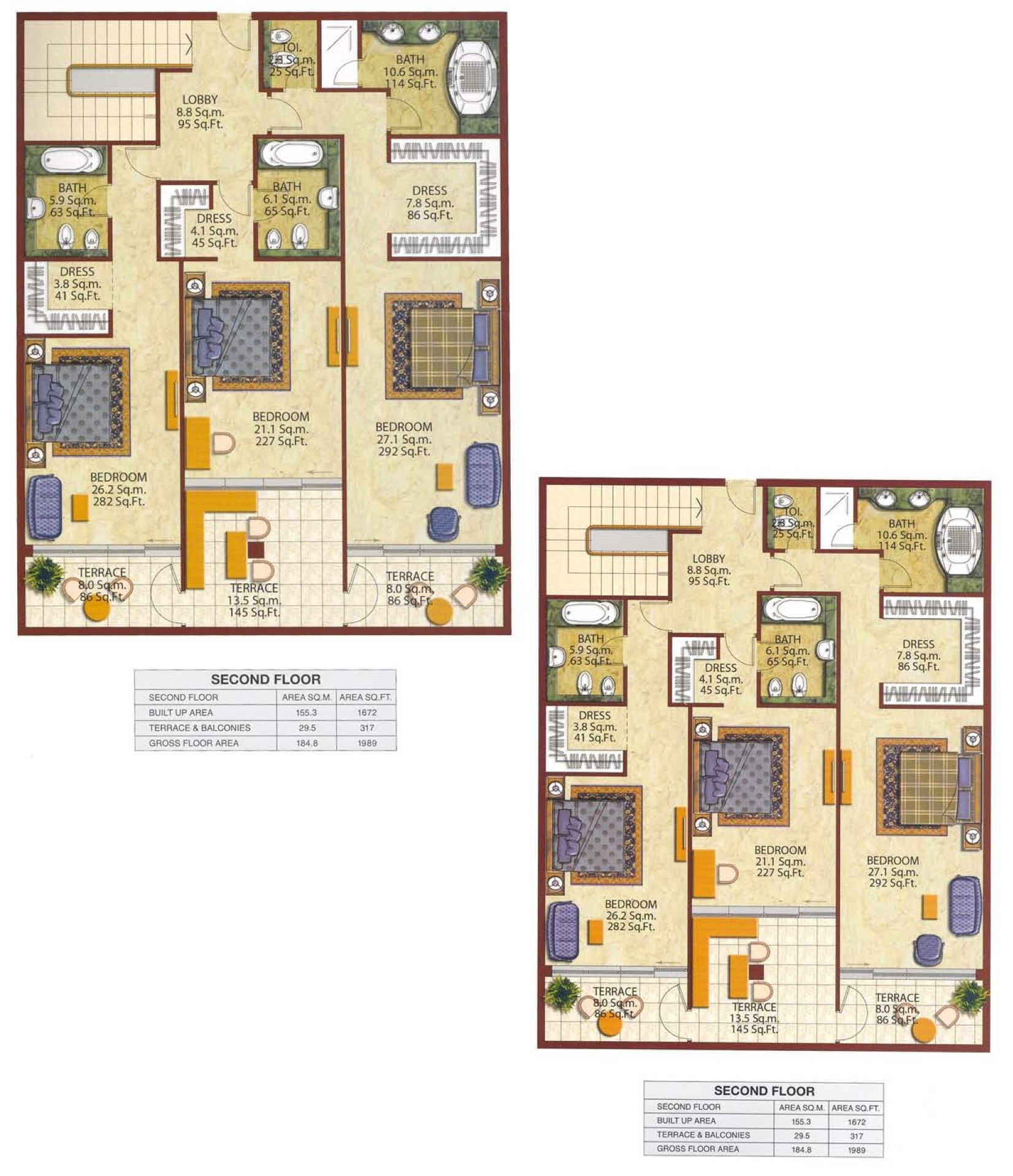 Kempinski Residences Townhouse Floor Plans Palm Jumeirah