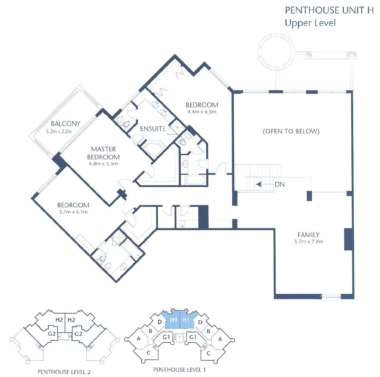 Shoreline apartments floor plans palm jumeirah dubai for Floor plans jumeirah heights