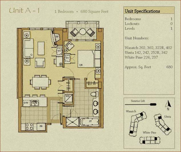 Escala Lodge Floor Plans Park City Utah