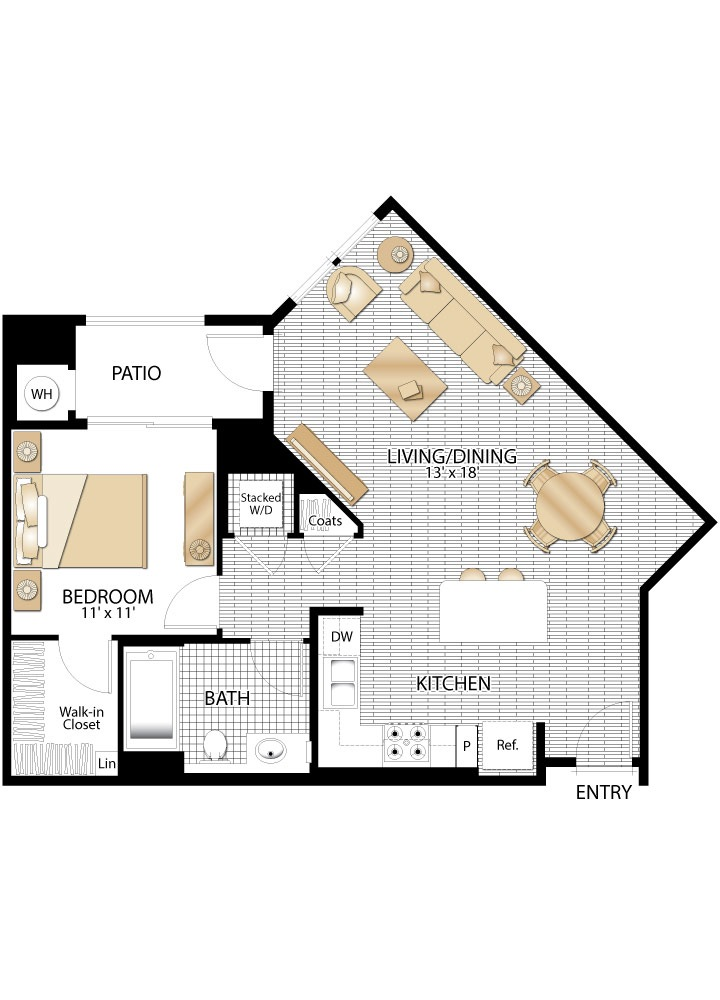Riverview Apartment Floor Plans San Jose California