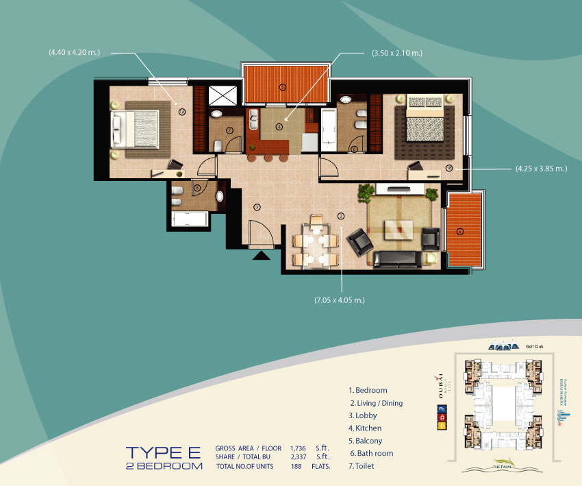 Sulafah Tower Floor Plans Dubai Marina Dubai